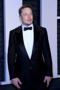 Elon Musk stoned