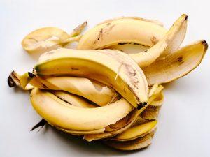 Rijpe bananen voor recept cannabis-bananenijs